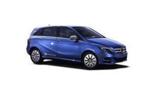 Mercedes b-class electric